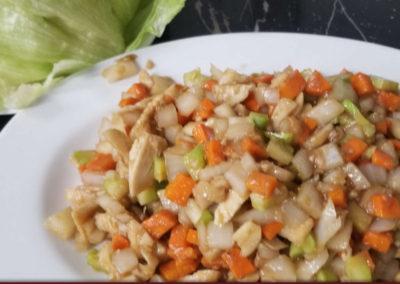 7. Chicken Lettuce Wrap